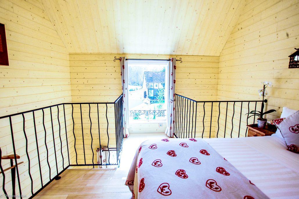 Le clos des vignes chambre avec jacuzzi privatif chambre chalet for Chambre style chalet
