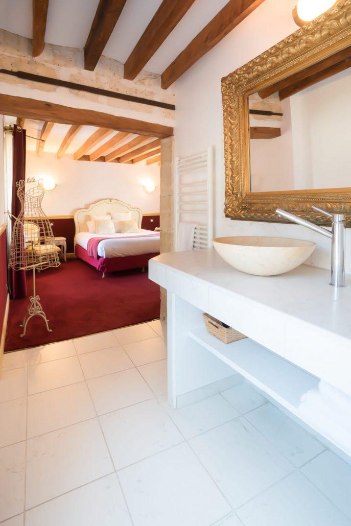 Le clos des vignes chambre avec jacuzzi chambre imp riale - Chambre d hotel avec piscine privative ...