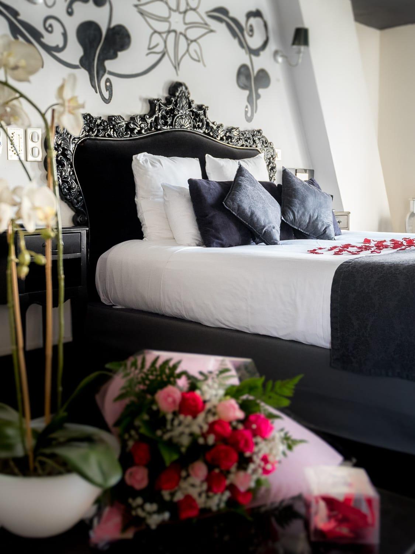 Le clos des vignes nuit romantique avec jacuzzi suite for Chambre de nuit romantique