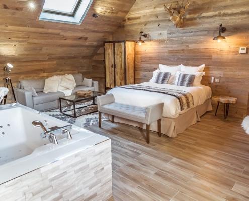 Hotel Jacuzzi Chambre