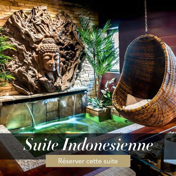 Suite indonésienne, suite avec jacuzzi