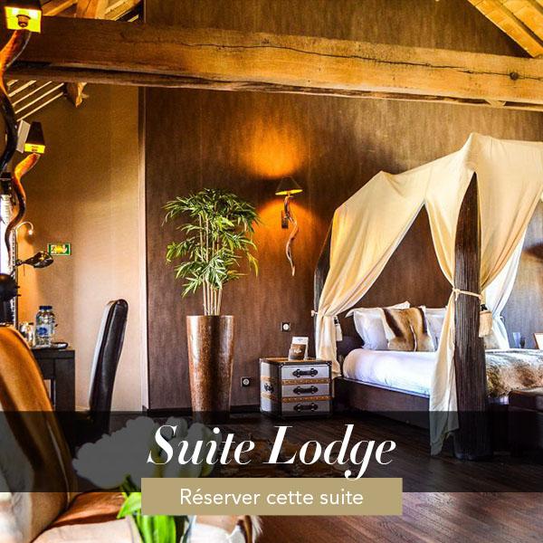Suite Lodge, suite romantique avec jacuzzi