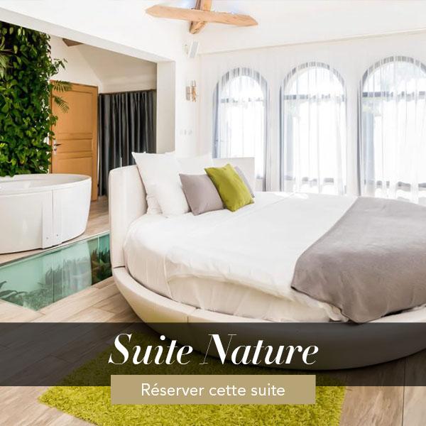 Suite Nature, suite avec jacuzzi privatif