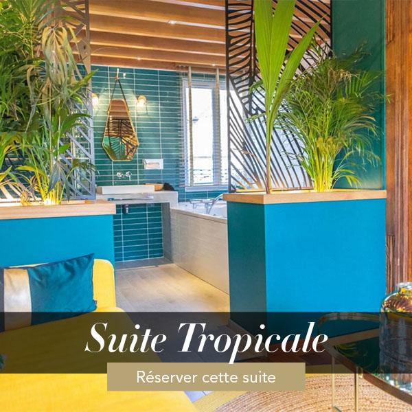 Suite Tropicale, weekend amoureux avec jacuzzi